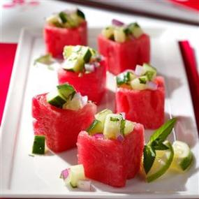 Meloenhapje